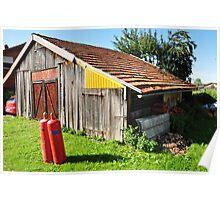 barn in the neighborhood Poster