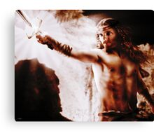 Notung! Notung! Coveted Sword! Canvas Print