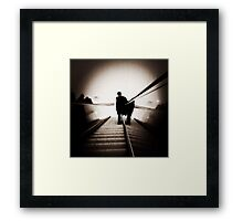 this time it's business Framed Print