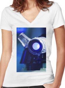 Dalek ! Women's Fitted V-Neck T-Shirt