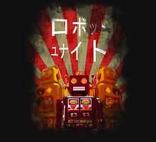 Robots Unite Unisex T-Shirt