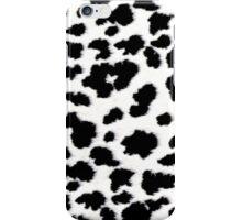 Animal Faux Fur Print iPhone Case/Skin