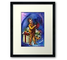 CHRISTMAS HAT Framed Print