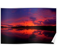 Sunrise Serenade - Narrabeen Lakes, Sydney Australia - The HDR Experience Poster
