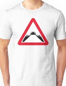 Back the the Future DeLorean Sign Unisex T-Shirt