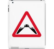 Back the the Future DeLorean Sign iPad Case/Skin