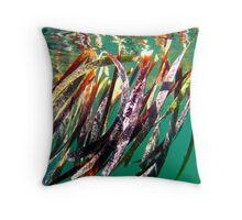 """Seagrass"" Shark Bay, Western Australia Throw Pillow"