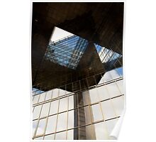 London Building abstract view Poster