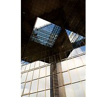 London Building abstract view Photographic Print