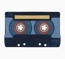 Blue Cassette Tape One Piece - Short Sleeve