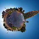 Bendigo Christmas Tree - Little Planet by Marcus Mawby