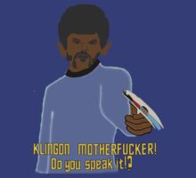Pulp Trek - Speak Klingon? T-Shirt