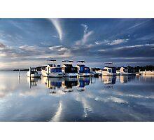 Blue Afternoon - Swansea NSW Australia Photographic Print