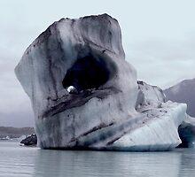 Glacial iceberg by Noeline R