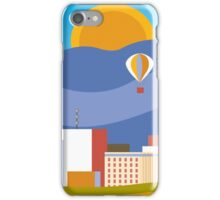 Albuquerque, New Mexico - Skyline Illustration by Loose Petals iPhone Case/Skin