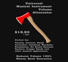 Universal Musical Instrument Volume Attenuator T-Shirt