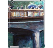 Old bridge on a rainy day iPad Case/Skin
