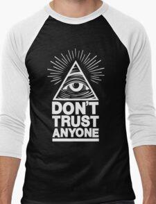 Don't Trust Anyone Men's Baseball ¾ T-Shirt