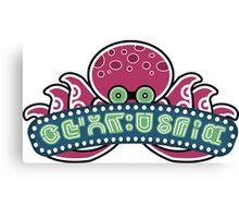 Octoland Logo Replica Canvas Print
