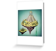 Sky Temple Greeting Card