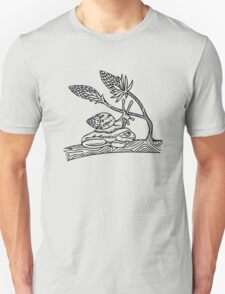 Snail on Frog T-Shirt