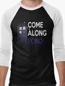 Come Along, Pond Men's Baseball ¾ T-Shirt