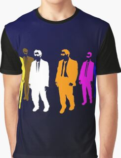 Reservoir Colors with Mr. Blue Graphic T-Shirt
