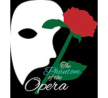 The Phantom and Rose Photographic Print