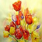 Tulip, A spring celebration iphone cover by LorusMaver
