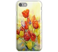 Tulip, A spring celebration iphone cover iPhone Case/Skin