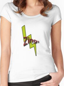 Zing! Women's Fitted Scoop T-Shirt