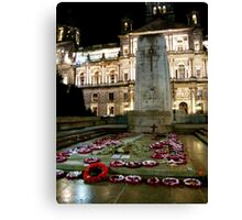 Cenotaph at George Square, Glasgow Canvas Print