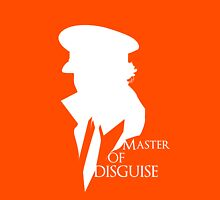 Master of Disguise Womens Fitted T-Shirt