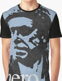 Hero - Charles Bukowski Graphic T-Shirt