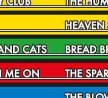 Disc Bootik Chart Sticker