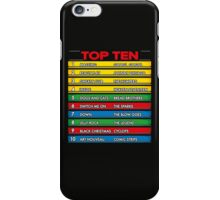 Disc Bootik Chart iPhone Case/Skin