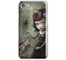 Black Widow Creepy Cute Girl iPhone Case/Skin