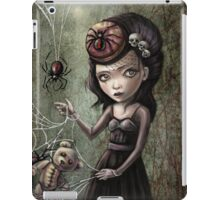 Black Widow Creepy Cute Girl iPad Case/Skin