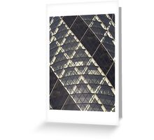 Gherkin Building London Cropped View Greeting Card