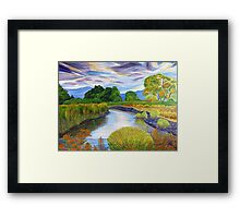 Forever is the Life of Nature. Framed Print