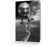 Black and White Collection -- Hangin' Over Greeting Card