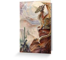 Lizard King Greeting Card