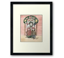 Christmas Carols Framed Print
