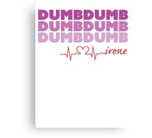 Red Velvet Irene Dumb Dumb Canvas Print