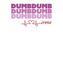 Red Velvet Irene Dumb Dumb Photographic Print