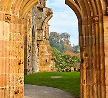 Through the Arched Door (Bolton Abbey) by Sue Knowles