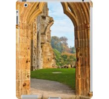 Through the Arched Door (Bolton Abbey) iPad Case/Skin