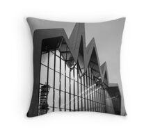 Riverside Museum - Glasgow Throw Pillow