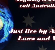 Call Australia Home Sticker