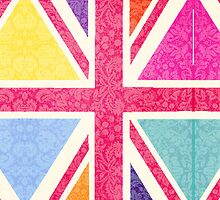 Pink Union Jack by Claire Elford